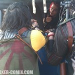 """Gerard discussing a scene with Franky and Ray on """"Na Na Na"""""""