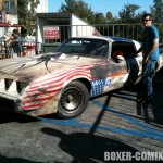 Jason getting the Trans Am ready at the House of Blues